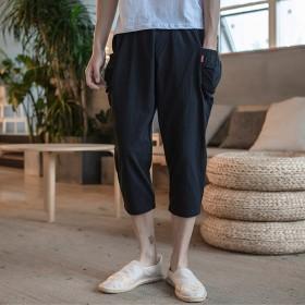 メンズ ハーレムパンツ ビーチパンツ ショートパンツ 薄い ゆったり 大きいサイズ お兄系 19mqo059