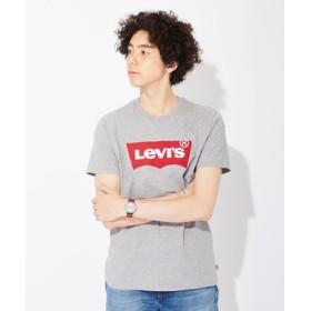 Levi's バットウィングロゴTシャツ メンズ グレー
