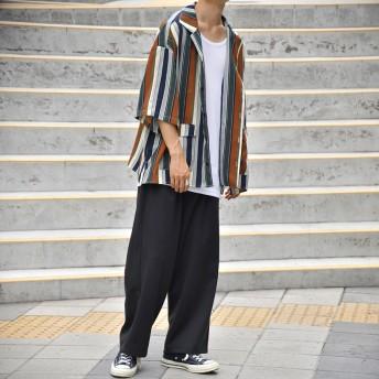 パンツ・ズボン全般 - kutir 【kutir】2タックワイドスラックスパンツ
