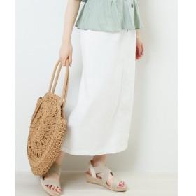 [マルイ]【セール】デニムフロントボタンナロースカート/レイカズン(RAY CASSIN)