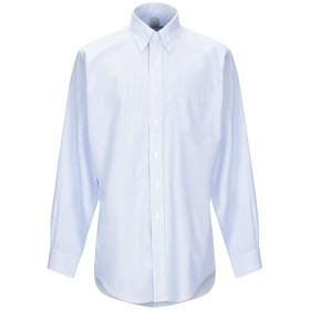 《期間限定セール開催中!》BROOKS BROTHERS メンズ シャツ スカイブルー 15 スーピマ 100%