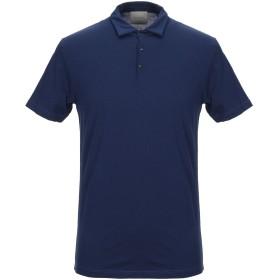 《期間限定セール開催中!》MOHAIR メンズ ポロシャツ ブルー 48 コットン 100%