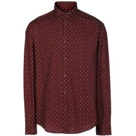 《セール開催中》ARMANI JEANS メンズ シャツ ボルドー XL コットン 100%