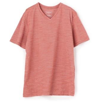 メンズビギ VネックTシャツ メンズ レッド L 【Men's Bigi】