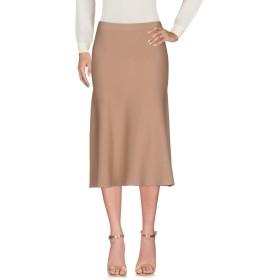 《送料無料》LIVIANA CONTI レディース 7分丈スカート サンド 44 レーヨン 62% / ナイロン 38%