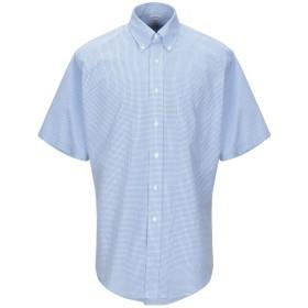 《9/20まで! 限定セール開催中》BROOKS BROTHERS メンズ シャツ ブルー 15 スーピマ 100%