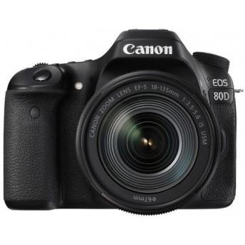 Canon デジタル一眼レフカメラ EOS 80D レンズキット EOS80D18135USMLK