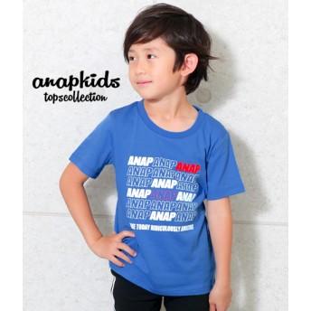 【セール開催中】ANAP KIDS(キッズ)ポイントカラーANAPロゴTシャツ