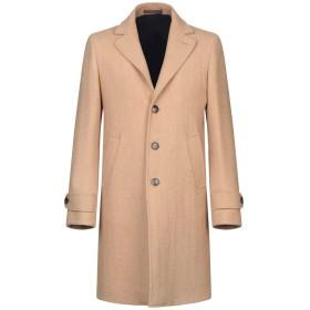 《期間限定セール開催中!》ELEVENTY メンズ コート キャメル 52 ウール 100%