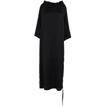 《セール開催中》MARC ELLIS レディース 7分丈ワンピース・ドレス ブラック XS ポリエステル 100%