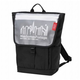 マンハッタン ポーテージ Carey Washington SQ Backpack JR ユニセックス Black/White M 【Manhattan Portage】