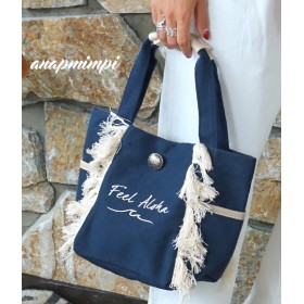 【セール開催中】ANAP(アナップ)フリンジ刺繍トートバッグ