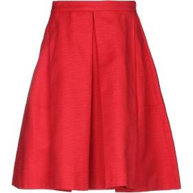 《期間限定セール開催中!》LES COPAINS レディース ひざ丈スカート カッパー 38 コットン 100%