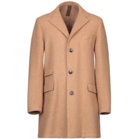 《期間限定セール開催中!》ELEVENTY メンズ コート キャメル 50 毛(アルパカ) 100%
