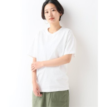 JOURNAL STANDARD relume 【LA APPAREL / ロサンゼルスアパレル】8.5oz ShortSleeve Binding GDT:Tシャツ ホワイト A XL