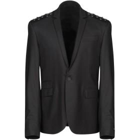 《期間限定セール開催中!》LES HOMMES メンズ テーラードジャケット ブラック 52 バージンウール 96% / ポリウレタン 4%
