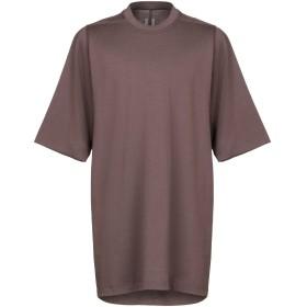 《期間限定 セール開催中》RICK OWENS メンズ T シャツ ココア XS コットン 100%
