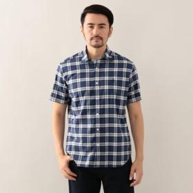 SALE【マッキントッシュ ロンドン メン(MACKINTOSH LONDON MEN)】 タータンチェック レギュラーカラーシャツ ブルー