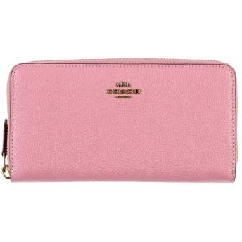 《セール開催中》COACH レディース 財布 ピンク 革