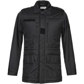 《期間限定 セール開催中》SAINT LAURENT メンズ コート ブラック 40 ナイロン 100%