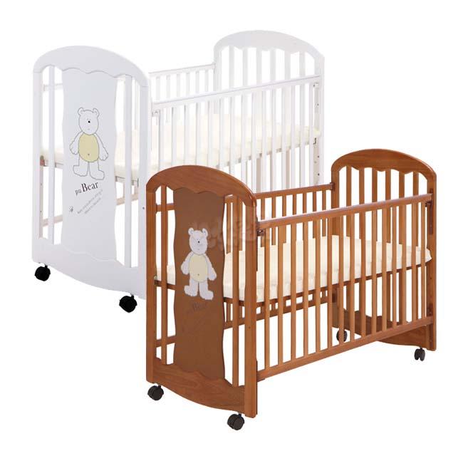 L.A.Baby Carolina Crib 卡羅萊納嬰兒中床/嬰兒木床/實木嬰兒床