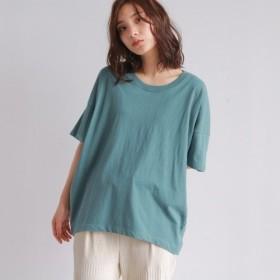 [マルイ]【セール】[洗える]コットンビッグシルエットTシャツ/オゾック(OZOC)