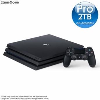 【中古即納】[本体][PS4]プレイステーション4 プロ PlayStation4 Pro ジェット・ブラック 2TB(CUH-7200CB01)(20181121)
