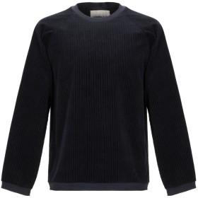 《期間限定 セール開催中》CORELATE メンズ スウェットシャツ ブラック S コットン 97% / ポリウレタン 3%