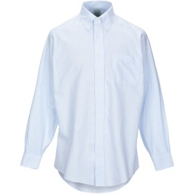 《期間限定セール開催中!》BROOKS BROTHERS メンズ シャツ スカイブルー 16 スーピマ 100%