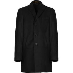 《期間限定セール開催中!》SSEINSE メンズ コート ブラック 54 ポリエステル 100%