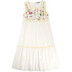 《セール開催中》ERMANNO SCERVINO JUNIOR ガールズ 9-16 歳 ワンピース&ドレス ホワイト 12 コットン 100%
