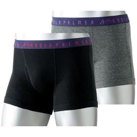 【メンズ】 アーノルドパーマー ボクサーブリーフ(2枚組) - セシール ■カラー:ブラック&グレー ■サイズ:L,M,LL
