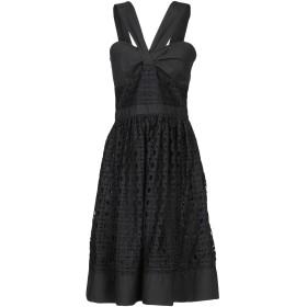 《セール開催中》BOUTIQUE MOSCHINO レディース ミニワンピース&ドレス ブラック 40 コットン 100%
