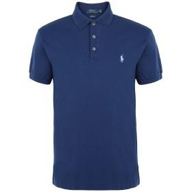 《期間限定セール開催中!》POLO RALPH LAUREN メンズ ポロシャツ ブルー XS コットン 97% / ポリウレタン 3% SLIM FIT STRETCH MESH POLO