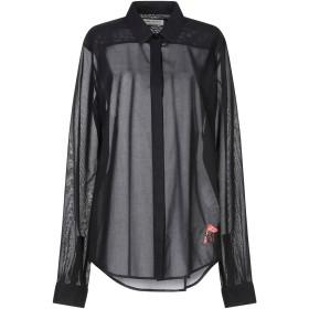 《期間限定 セール開催中》SAINT LAURENT レディース シャツ ブラック 40 コットン 100%