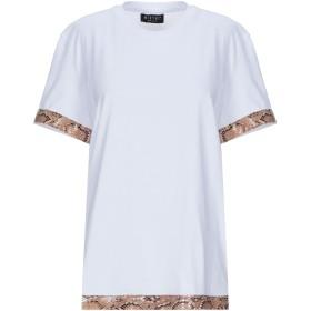 《セール開催中》MIKYRI レディース T シャツ ホワイト L コットン 100%
