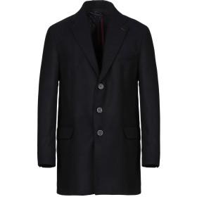 《期間限定セール開催中!》GRAFFIO メンズ コート ダークブルー 46 ポリエステル 78% / レーヨン 20% / ポリウレタン 2%