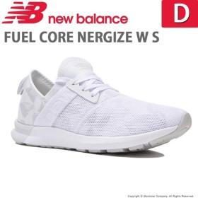 f4a06b11c04e0 ニューバランス newbalance [2019年秋新作] レディース フィットネスシューズ NB FUEL CORE NERGIZE W S D  ホワイト