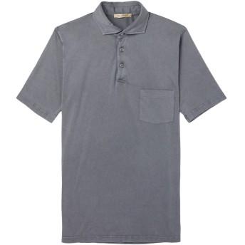 《期間限定セール開催中!》MAN 1924 メンズ ポロシャツ 鉛色 XXL コットン 100%