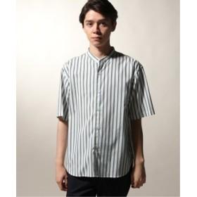 (JOURNAL STANDARD/ジャーナルスタンダード)【19SS】SOLOTEX(R) パターン半袖シャツ/メンズ ブルーA 送料無料