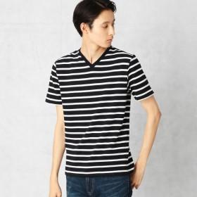 [マルイ]【セール】サーフニット ボーダーTシャツ/コムサメン(COMME CA MEN)