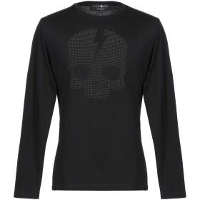 《期間限定セール開催中!》HYDROGEN メンズ T シャツ ブラック XS コットン 100%