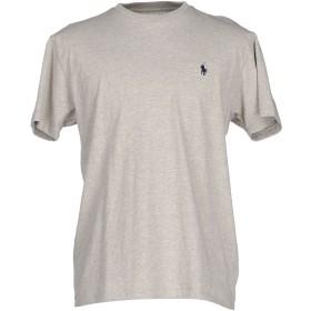《セール開催中》POLO RALPH LAUREN メンズ T シャツ ライトグレー L コットン 100%