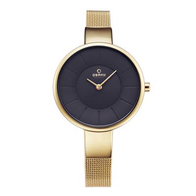 OBAKU 晚宴完美迷人腕錶-V149LXGJMG-32mm