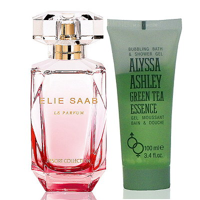 Elie Saab Le Parfum 紅毯淡香水 90ml 搭贈綠茶沐浴精100ml