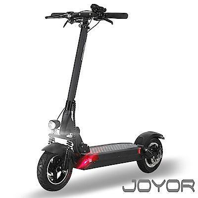JOYOR EY-09 48V鋰電 定速 搭配 500W電機 10吋大輪徑 碟煞電動滑板車