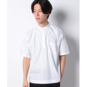 (koe/コエ)ブロードプルオーバーシャツ/メンズ ホワイト