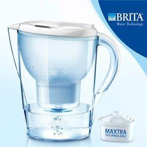 【清淨淨水店】德國BRITA Marella XL 馬利拉3.5L濾水壺(1濾芯) 白色賣1100元