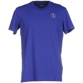 《期間限定セール開催中!》DIRK BIKKEMBERGS メンズ T シャツ ブライトブルー S コットン 92% / ポリウレタン 8%