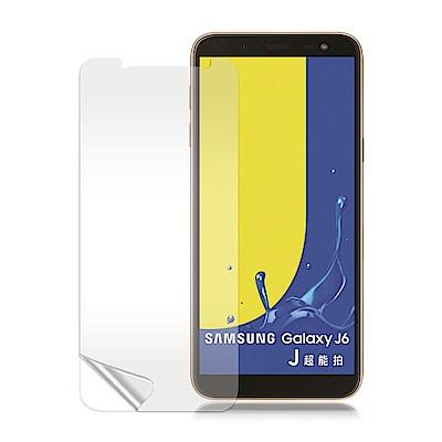 VXTRA Samsung Galaxy J6 高透光亮面耐磨保護貼